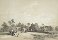 The Hindoo temples on the plains near Meerut